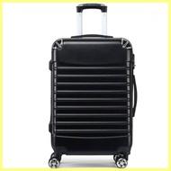 กระเป๋าเดินทางสีดำ ขนาด 24 นิ้ว บริการเก็บเงินปลายทาง