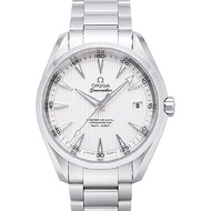 OMEGA 歐米茄 海馬 Aqua Terra 經典機械錶-白面白刻度/41.5mm