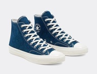 RENEW DENIM X CONVERSE CHUCK 70 HIGH 165647C 男女鞋