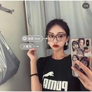 DIOR  19新款潮推薦的款光學眼鏡 可更換鏡片