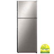 Hitachi RV480P8MS 2 Door Fridge + FREE GIFT