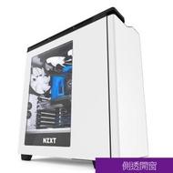 【NZXT 恩傑】H440 MID-TOWER CASE 側透中塔型電腦機殼-白