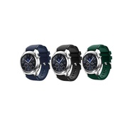 3 Pack Samsung Gear S3 Frontier/Galaxy Watch 46mm Band Soft Silicone Sport Replacement Band for Samsung Gear S3 Frontier(NOT FIT S2 & S2 Classic & Fit2)
