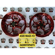 ASIO MAGS CHROME RED SNIPER 150