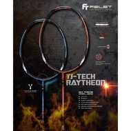 FELET TJ Raytheon 2 / 3 (3U/G1)Max Tension 38LBS (Up String Service Free) Badminton Racket
