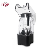 2L/2200W Commercial blender Professional Power blender Mixer Fruit JUICER cocktail Bar โปรเซสเซอร์อาหาร