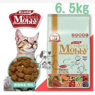 Mobby莫比 愛貓無穀成貓(鹿肉鮭魚)專用配方6.5kg