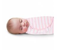 美國【Summer infant】聰明懶人育兒包巾(粉嫩條紋) #55876