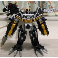 獸電戰隊 暗黑版 強龍神 金剛戰士