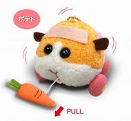 日版天竺鼠車車震動娃娃 天竺鼠車車 吊飾娃娃 共三款 日本進口