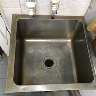 二手不鏽鋼水槽 2尺