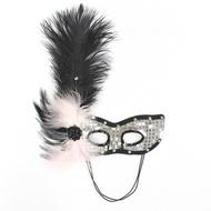 ✤宜家✤聖誕節萬聖節化妝舞會面具 義大利威尼斯彩繪面具 美女羽毛面具