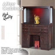 ALTAR PRAYER CABINET WITH TOP / SOLID CABINET