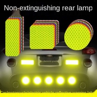Car Reflective Stickers Electric Car Motorcycle Reflective Stickers Night Warning Van Reflective Stickers Personality Creative