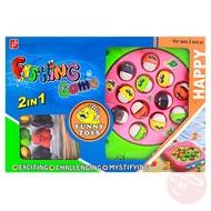 【瑪琍歐玩具】電動釣魚盤/ FJ381-2AB