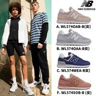 【NEW BALANCE】NB 復古鞋_女鞋_粉紅_WL574OAB-B楦 運動 休閒 潮流 時尚