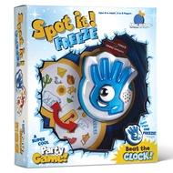 Totty Books (4 ขวบ - ผู้ใหญ่) การ์ดเกมหาคู่ ฝึกสังเกตุ ประชันความไว Spot It Freeze บอร์ดเกมเด็ก เกมกระดาน ของเล่นเด็ก ของเล่นเด็กเสริมพัฒนาการ ของขวัญวันเกิด ของเล่นเด็กหญิง ของเล่นเด็กชาย