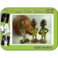 最新2013NBA公仔!有籃網隊Deron Williams/湖人隊Kobe Bryant Dwight Howardt搖頭公仔!每個只要720元!
