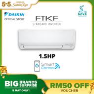 DAIKIN R32 1.5HP Standard Inverter Air Conditioner - FTKF Model -FTKF35A / RKF35A-3WMY-LF