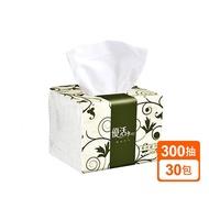 優活 抽取式衛生紙 柔拭紙巾 小抽 300抽X30包/箱 現貨