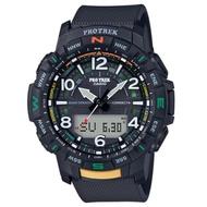 PROTREK 運動冒險家風格數字設計藍芽錶-黑(PRT-B50-1)