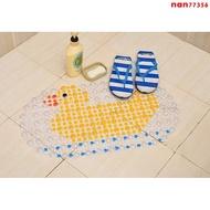 浴室防滑地墊 PVC吸盤防滑墊 浴室腳踏墊 廁所門墊 塑膠地墊
