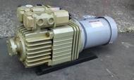 日本進口ORION DRY PUMP KD-1501-301(2HP)低噪音型乾式真空幫浦/真空機/印刷機(九成新)