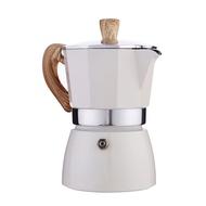 Hourser เครื่องทำกาแฟอิตาเลี่ยน Top Moka Espresso Cafeteira Expresso กระถางกรอง Stovetop เครื่องชงกาแฟอลูมิเนียมด้านบนเครื่องชงกาแฟ3/6ถ้วย