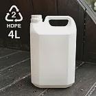 《將將好》塑膠容器4L(5組入) 可裝酒精、次氯酸水