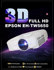 Epson Home Theatre TW5650 wireless 2D/3D Full HD 1080p 3LCD Projector  EHTW5650 TW5650 EH TW 5650  (Free $150 NTUC voucher till 30/08/2020 , Online REDEMPTION by 14/09/2020)
