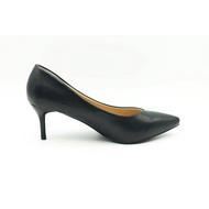 รองเท้า 9696 รองเท้าผู้หญิง รองเท้าคัชชู หัวแหลม ส้นสูง รองเท้าคัชชูสีดำ รองเท้าส้นสูง 2.5 นิ้ว FAIRY