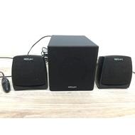 二手 MidiLand 2.1聲道線控喇叭