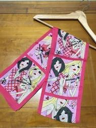 安娜蘇 ANNA SUI 全新 絲巾 長巾 原價490