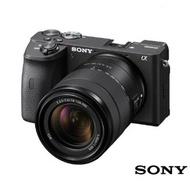 SONY 單眼相機 A6600M 變焦鏡組(公司貨) ILCE-6600M A6600 110/5/9前註冊贈原廠包+座充+64G高速卡+電池+電池+吹球清潔組+保護貼