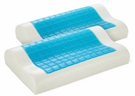 Royal Comfort - Gel Memory Foam Pillow Contour - Twin Pack