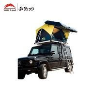 秋野地 諾亞硬頂 無線遙控全自動車頂帳篷(車頂帳)深藍