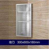 不銹鋼衛生間轉角浴室鏡櫃帶置物架 儲物櫃 三角鏡櫃壁掛鏡箱吊櫃