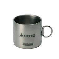 保溫杯/鈦合金/露營/登山 SOTO 鈦合金真空保溫杯ST-AM12