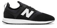 【NEW BALANCE】247 女鞋 休閒鞋 黑白 復古 孔孝真 熱門款 MRL247BG【勝利屋】
