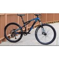 java furia 9 speed 27.5er full suspension mtb Mountain bike