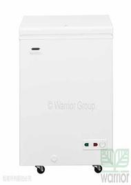 【結帳再折$300】Haier 海爾 1尺9 密閉臥式冷凍櫃 HCF-102