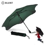 【紐西蘭BLUNT 保蘭特】抗強風防反傘抗UV時尚雨傘(折傘 XS_Metro森林綠)