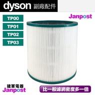 [96折][建軍電器]Dyson 戴森 超高密度 副廠濾網 TP00 TP01 TP02 TP03 空氣清淨機 濾芯 濾網 耗材