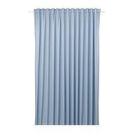 BENGTA 遮光窗簾 1件裝, 藍色
