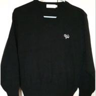 中山女高制服👍很新、還沒繡學號,黑色長袖毛衣(M)