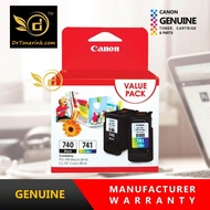 Genuine Original Ink Canon FINE Value Pack / COMBO PG-740 (8ML) + CL-741 (8ML) PG740 / PG 740 / CL741 / CL 741 VP - PIXMA - MG2170 / 2270 / 3170 / 3570 / 3670 / 4170 / 4270 / MX377 / 397 / 437 / 457 / 477 / 517 / 527 / 537 - by DrToner
