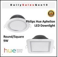 Philips Hue 59002 Aphelion Downlight 9W Round/Square - Local Seller 1-to-1 Exchange 1-Year Warranty