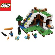 LEGO 樂高 我的世界 Minecraft 瀑布基地 21134
