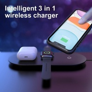 3 In1 Wireless ChargerสำหรับIphone 11 Pro X XS Max XRสำหรับApple 5 4 3 2 Airpods pro Fast ChargerสำหรับSamsung S20