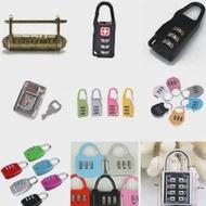 Nice Digit Dial รหัสล็อคกุญแจสำหรับกระเป๋าเดินทางกระเป๋าสะพายกระเป๋าถือกระเป๋าเป้สะพายหลังลิ้นชั...